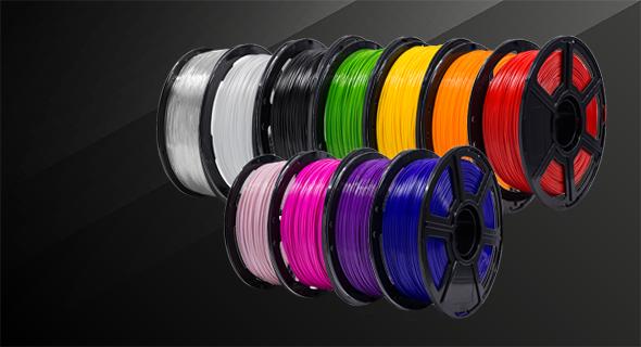 Filamento de colores impresora 3d flashforge